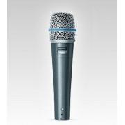 Microfone Supercardióide para Vocal e Instrumentos Acústico - Beta 57A