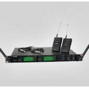Sistema sem fio Shure Duplo UR4D+ Com 2 Transmissores De Corpo (Body Pack) Instrumentos - UR1
