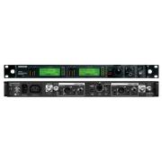 RECEPTOR SHURE COM 2 CANAIS E 2400 FREQUÊNCIAS UHF - UR4D+