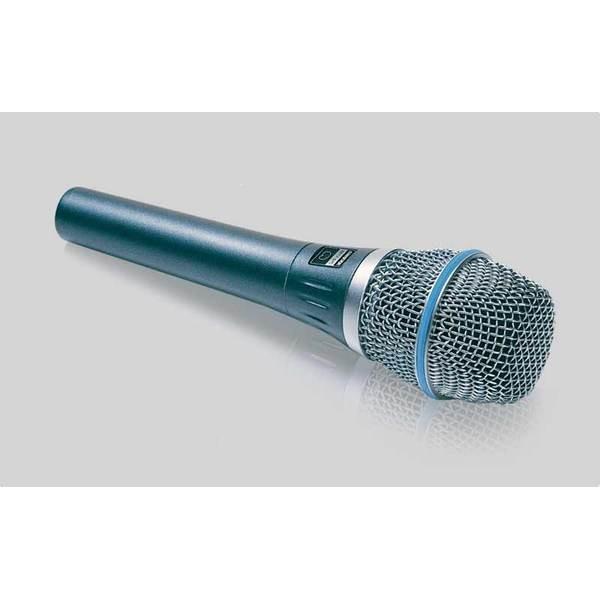 Microfone Shure Supercardióide Para Vocal - Beta 87c