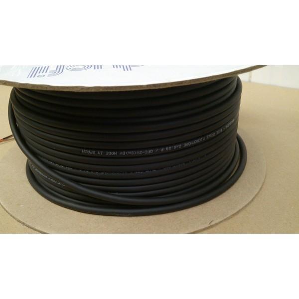 Cabo Balanceado Microfone Conducfil 2x0,20 - Blue Cable 8030