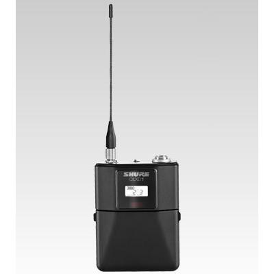 Transmissor de Bolso Shure para instrumento/Lapela para Sistema sem fio  QLXD - QLXD1