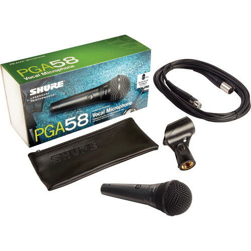 Microfone Shure vocal - PGA58