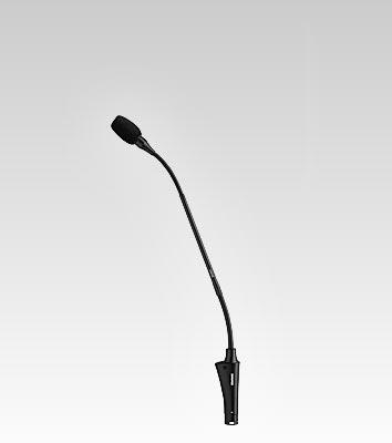Microfone de Mesa Shure Gooseneck Padrão Polar Cardióide CVG12-B