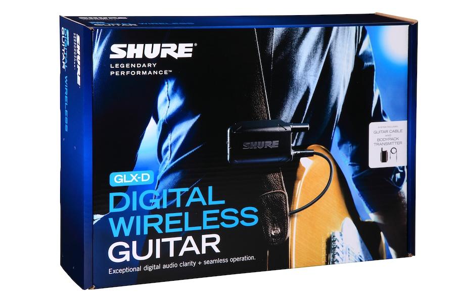 Sistema Sem Fio Shure Digital Instrumentos ou Lapela - GlXD14