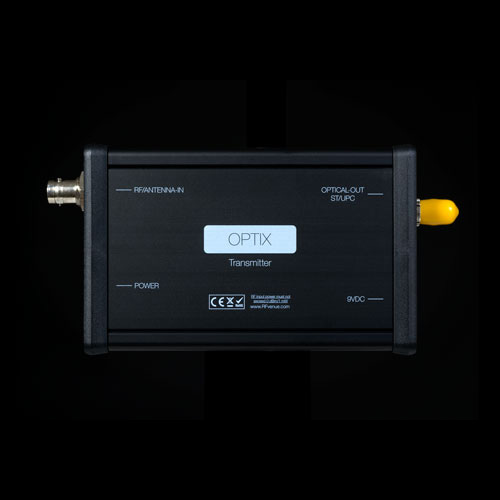 Sistema De Distribuição De Antena Rf Venue Por Fibra Óptica - RF Optix