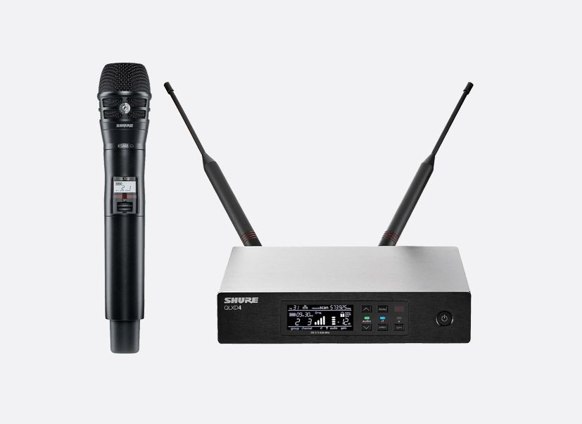 Sistema sem Fio Shure Digital QLXD - QLXD24/KSM8