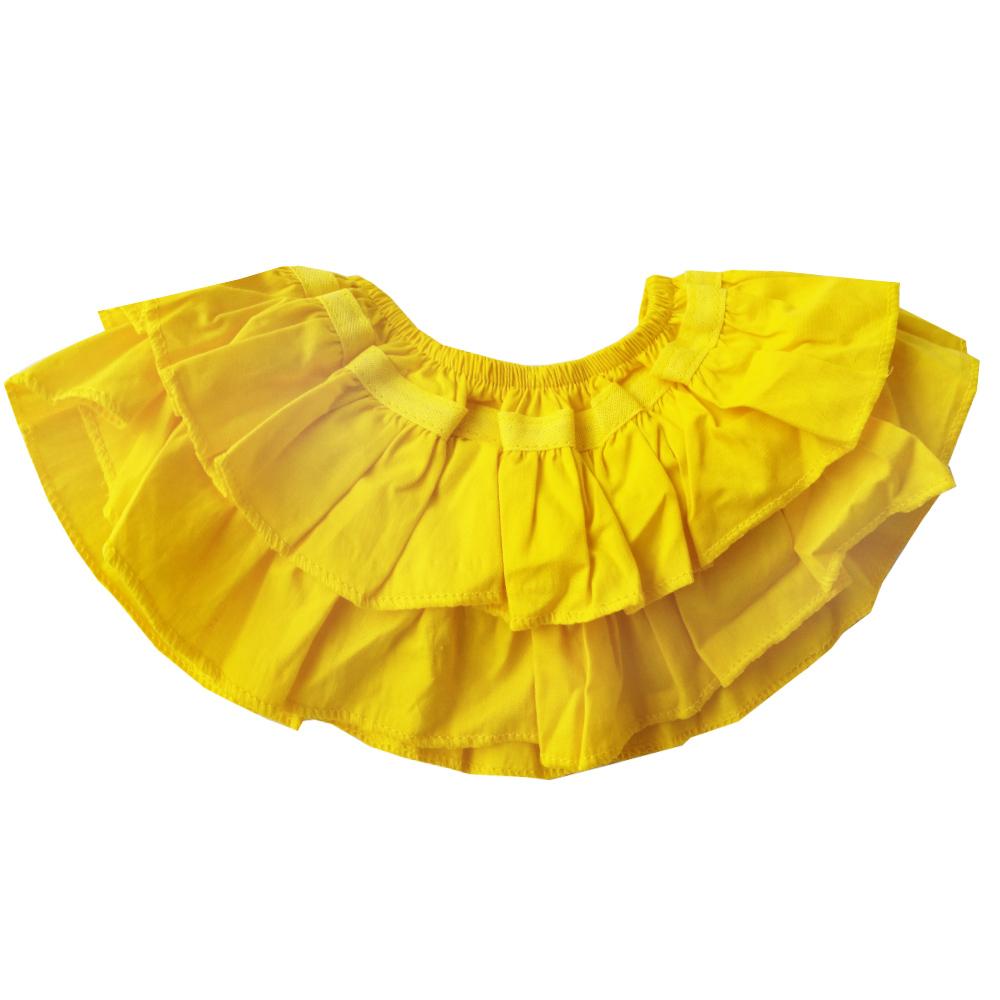 Calcinha Tapa Fralda Amarelo