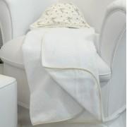 Toalha com Capuz Estampado - Floral Ferrurgem