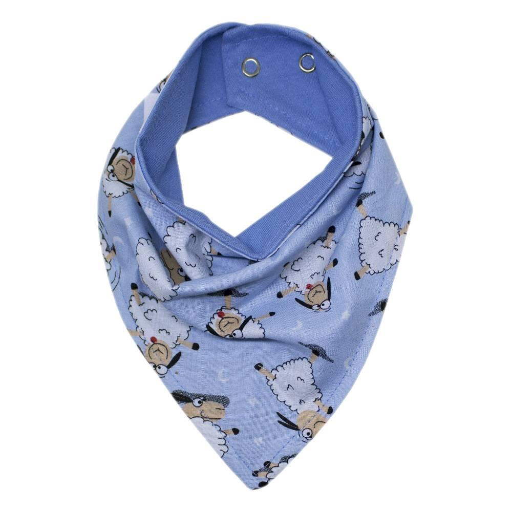 Babador de Bandana - Ovelha Azul