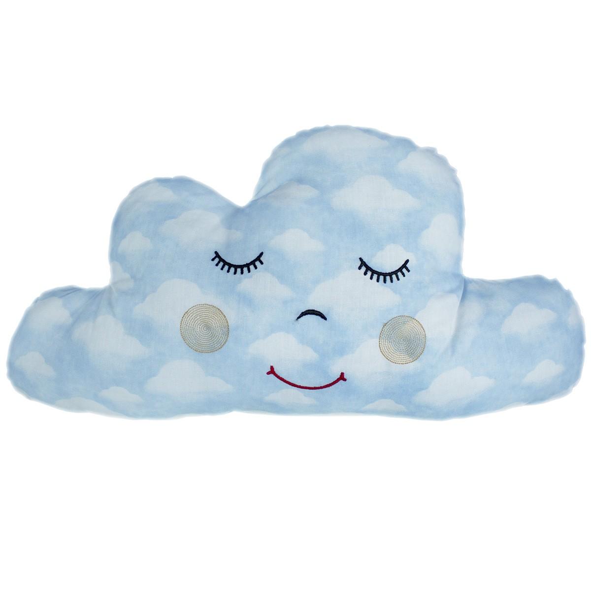 Almofada Nuvem Céu Azul