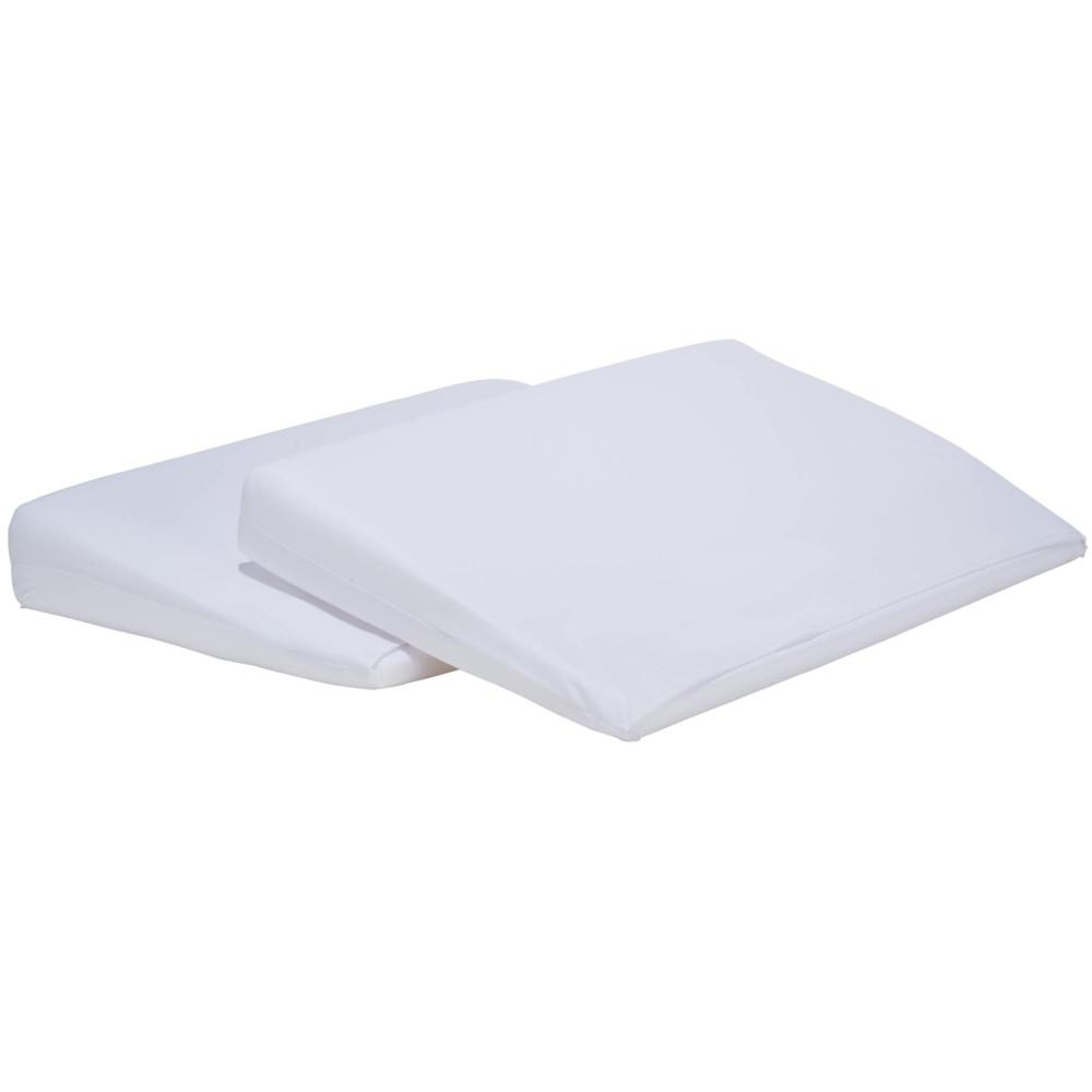 Travesseiro Rampa Anti Refluxo para Berço Branco