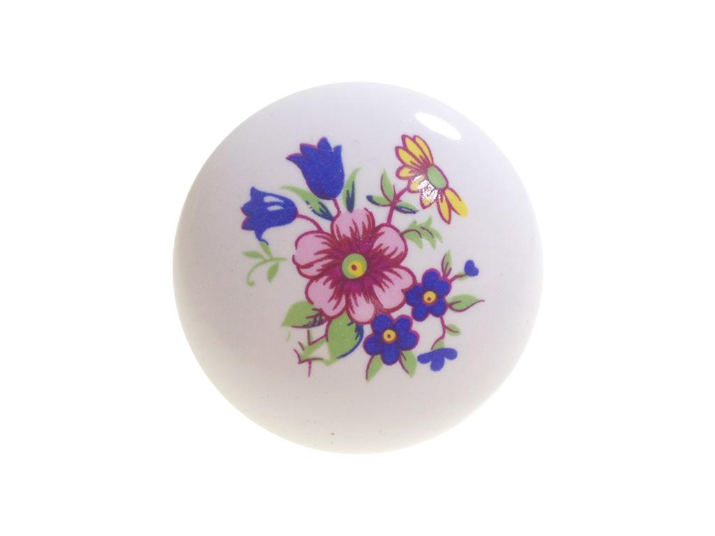 IL7016 Branco com Desenho Floral Italy Line A loja do Marceneiro #88314E 1024x768 Acessorios Banheiro Italy Line