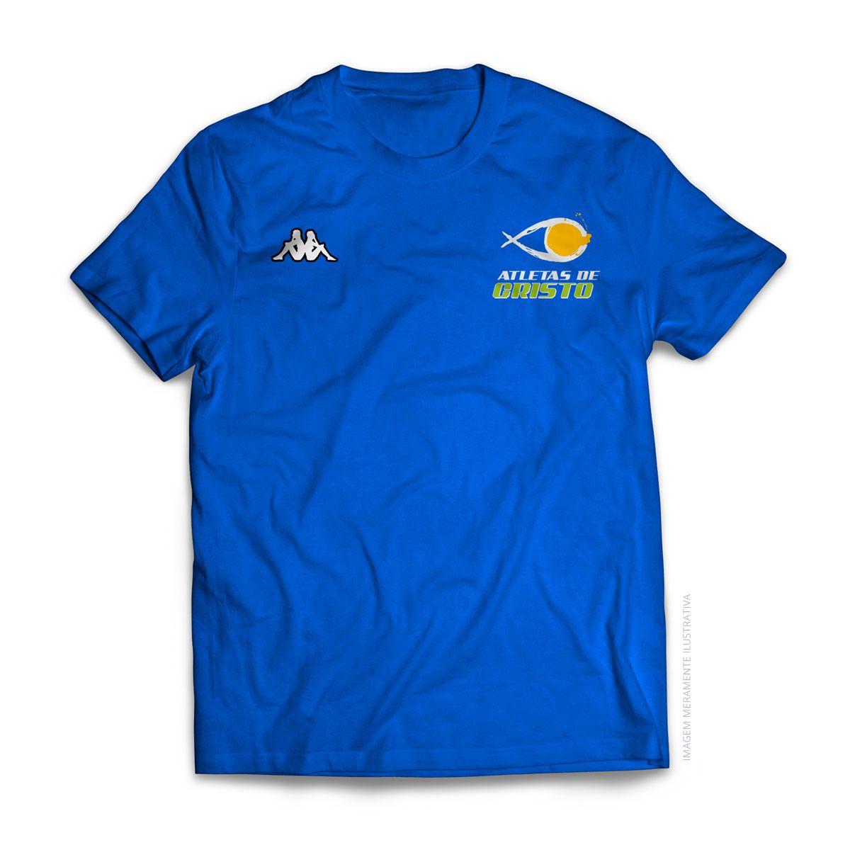Camiseta Kappa - Atletas de Cristo - Azul Royal