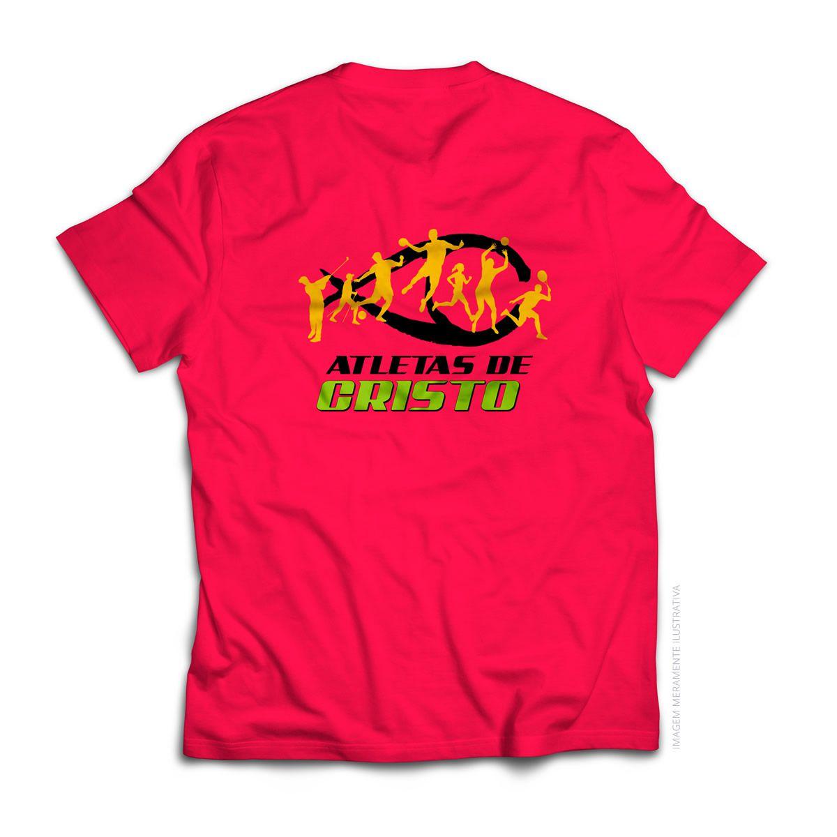 Camiseta Kappa - Atletas de Cristo - Vermelha