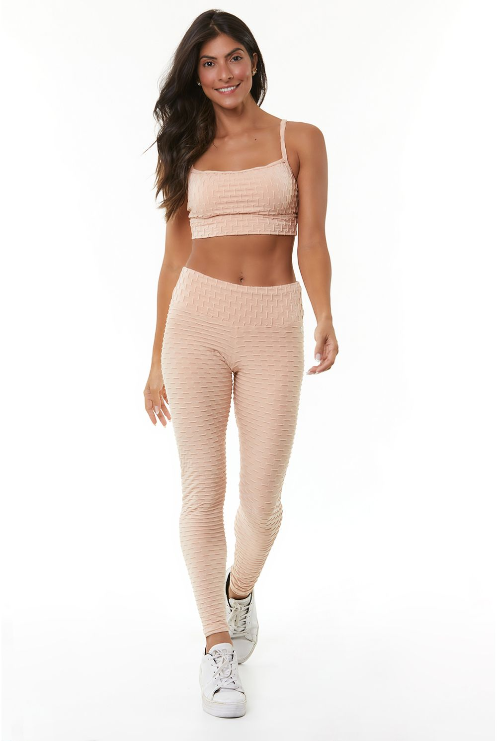 LEGGING WAVE PUSH UP - NUDE