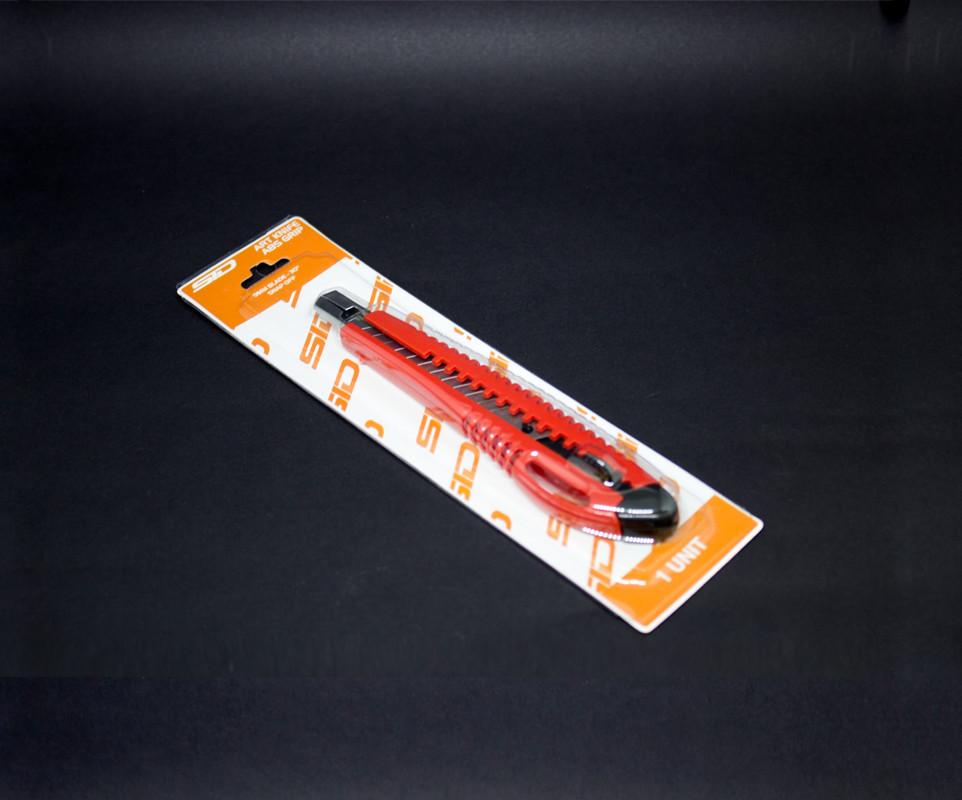 Estilete Plástico Grip 9mm Art Knife SID