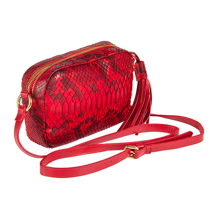 Bolsa Lourdes vermelha