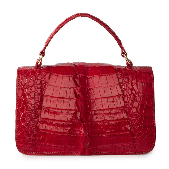 Bolsa Leila tango red