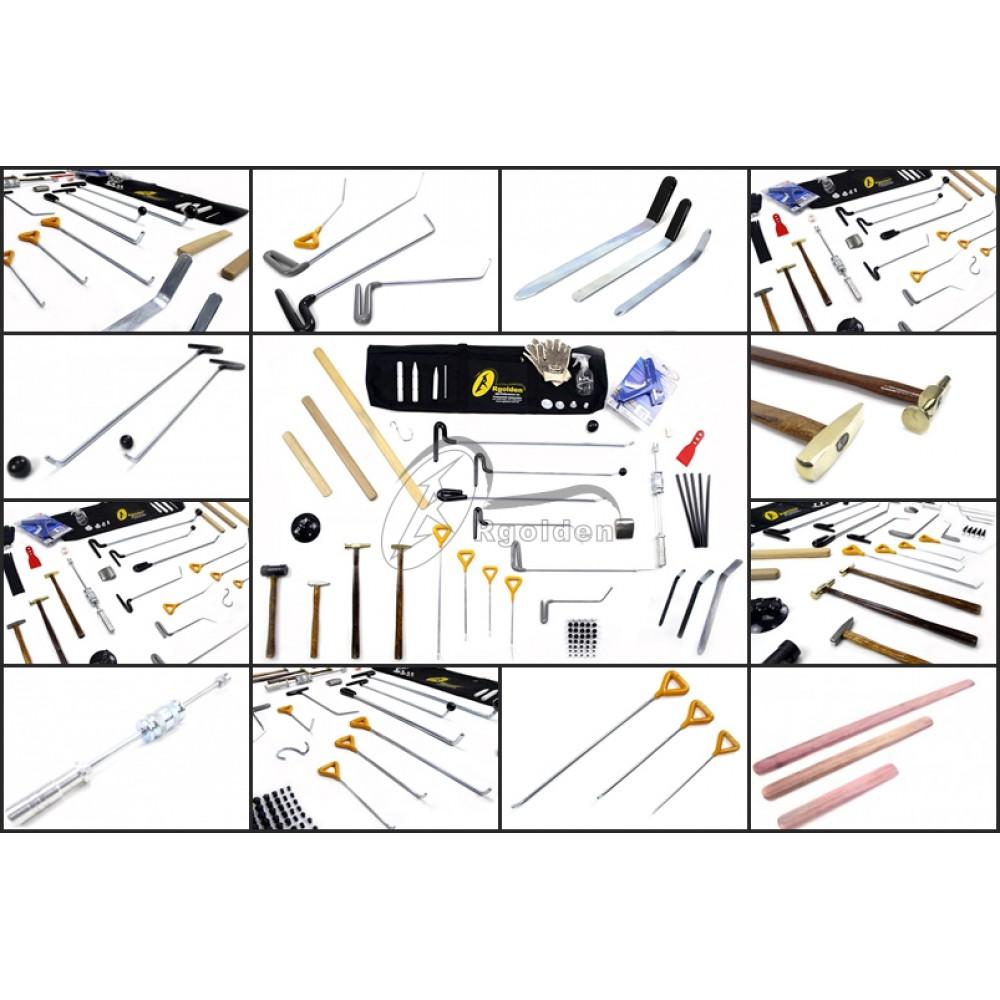 Kit de ferramentas Profissional para Martelinho de Ouro Premium 85 Peças