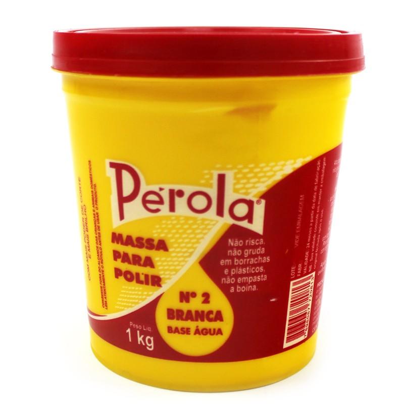 Massa de Polir nº 2 Perola - 1kg