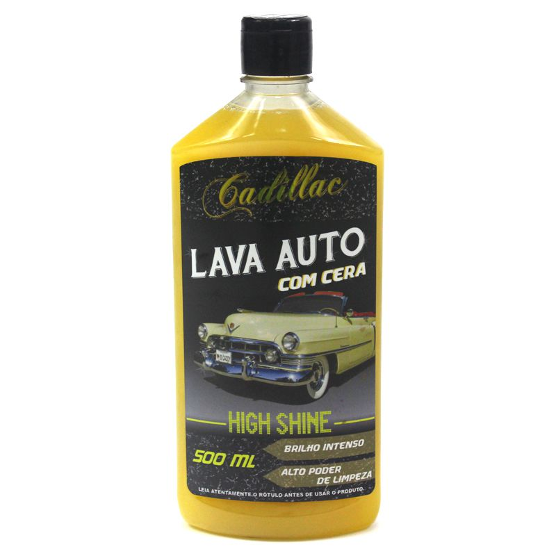 High Shine - Lava Auto com Cera 500ml