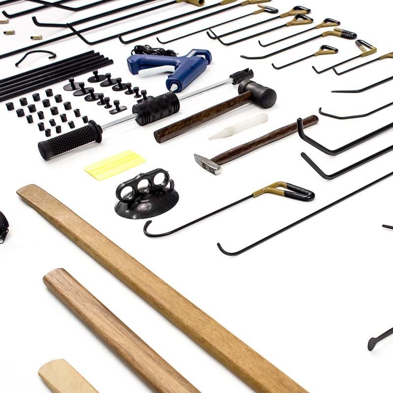 Kit de ferramentas Profissional para Martelinho de Ouro Supremo