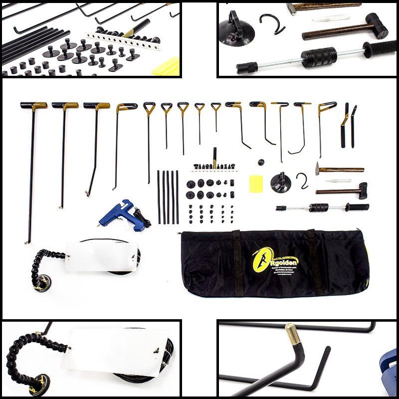 NEW Kit de ferramentas Profissional para Martelinho de Ouro Premium