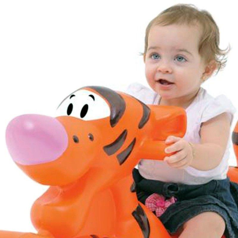 Gangorra Individual Tigrão da Disney  - Gutana Brinquedos