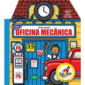Lino Oficina Mecânica - Col. Vamos Brincar   - Gutana Brinquedos