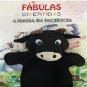 Livro Fábulas Divertidas A Magia da Paciência c/ fantoche   - Gutana Brinquedos
