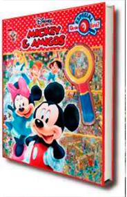 Livro Mickey e Amigos - Onde Está?  - Gutana Brinquedos