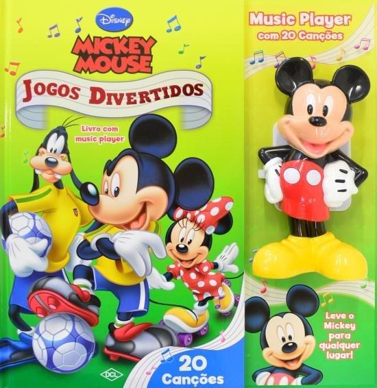Mickey Mouse – Jogos Divertidos – Livro Com Music Player  - Gutana Brinquedos