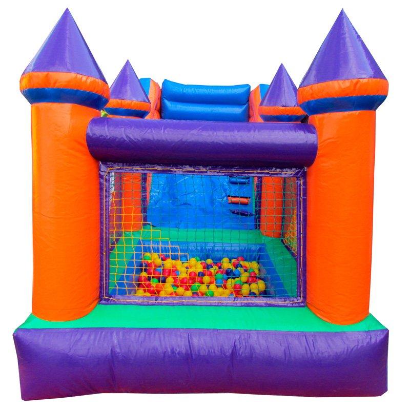 Mini tobog infl vel com piscina de bolinhas frete gr tis for Piscina de bolas toysrus
