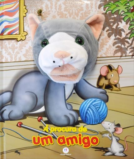 Livro Fantoche - Á Procura de Um Amigo  - Gutana Brinquedos