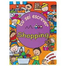 shopping - eu sei escrever   - Gutana Brinquedos