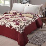 Cobertor King Size Microfibra Kyor Plus Casal Jolitex Estampa Chamonix