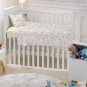 Jogo de Berço Linha Baby 100% algodão 3 Peças Santista