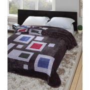 Cobertor Microfibra Casal Kyor Plus Baltra Chumbo Jolitex