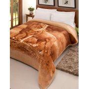 Cobertor Tradicional Plus Casal Pelo Alto Leão Jolitex