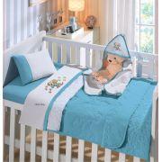 Edredom Bebê Dupla Face Linha Baby Malha 100% Algodão Buettner