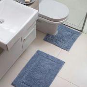 Jogo de tapetes para banheiro Capri Attuale 2 peças Corttex