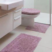 Jogo de tapetes para banheiro Capri Attuale 3 peças Corttex