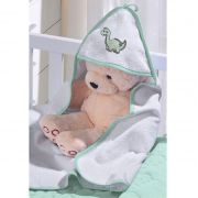 Toalha com capuz Baby Plush Felpudo com bordado 1 peça Buettner
