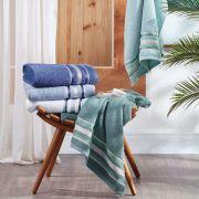 Toalha de Banho 100% algodão Linha Prata Serena Santista