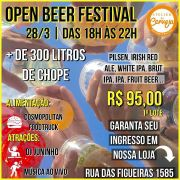 Ingresso Individual Open Beer Festival - 1o Lote