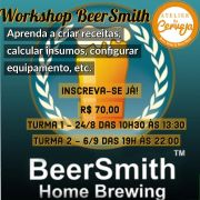Workshop BeerSmith - Turma 4 - 11/4/20 das 10:00 as 14:00