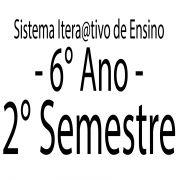 Sistema Itera@tivo de Ensino - 6° Ano - 2 Semestre