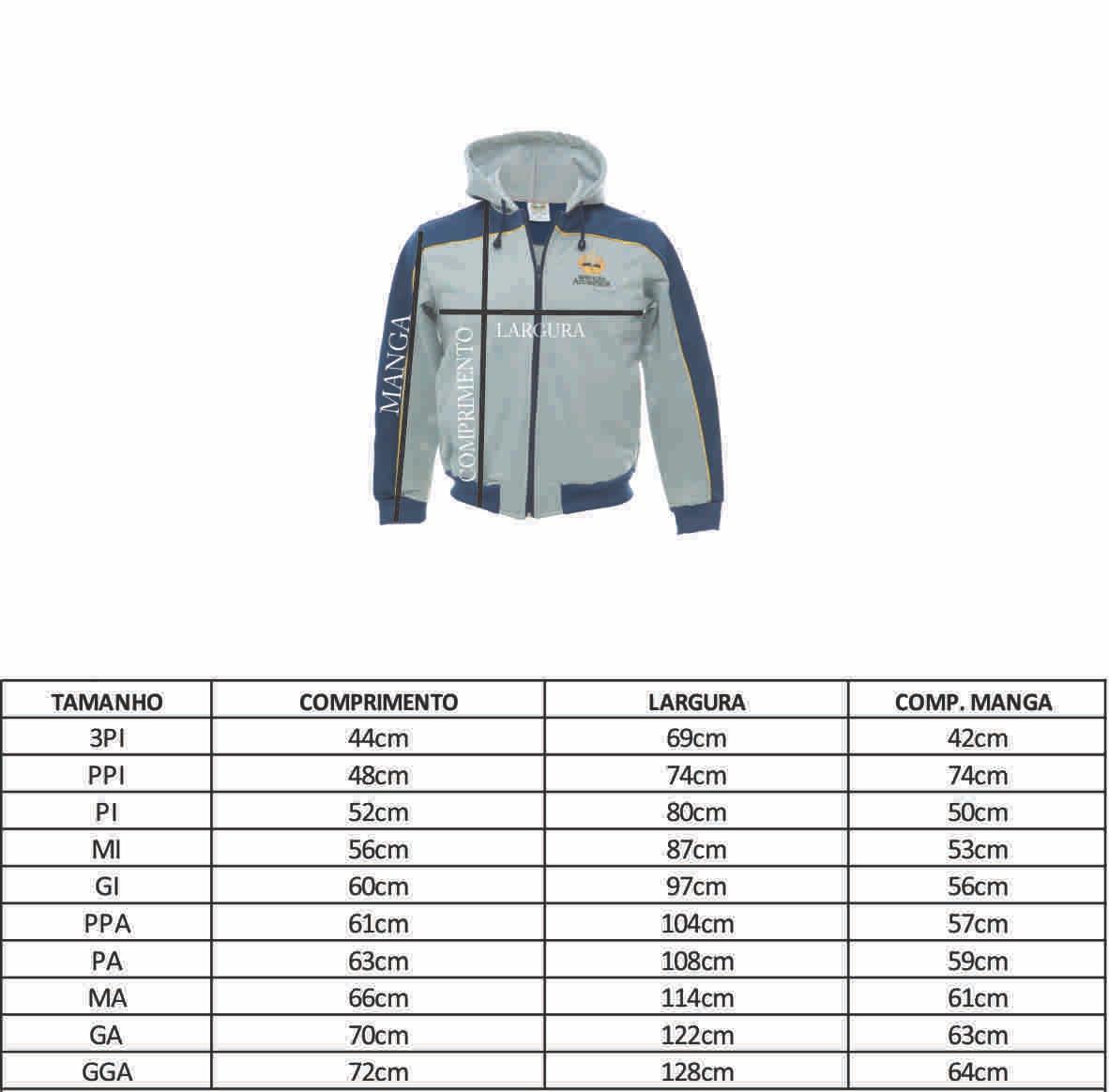 Blusa de Moleton C/ Capuz - PPA (38)
