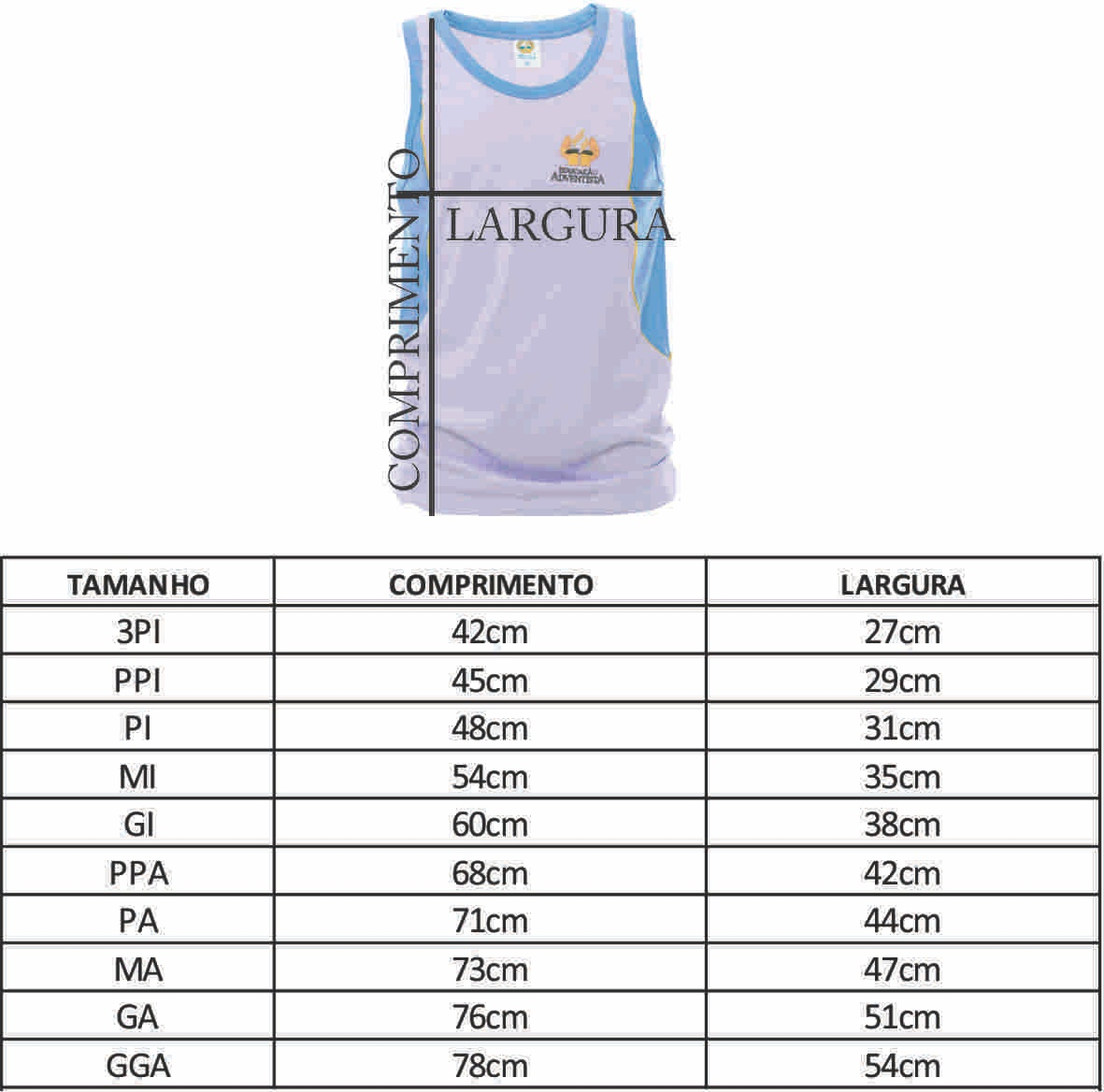 Camiseta Regata - PI ( 6-8 )
